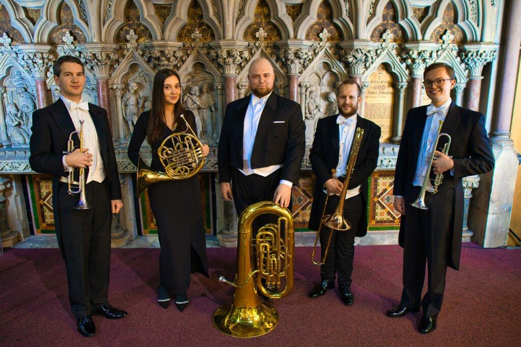 Ensemble of the Golden Bough Group Photo